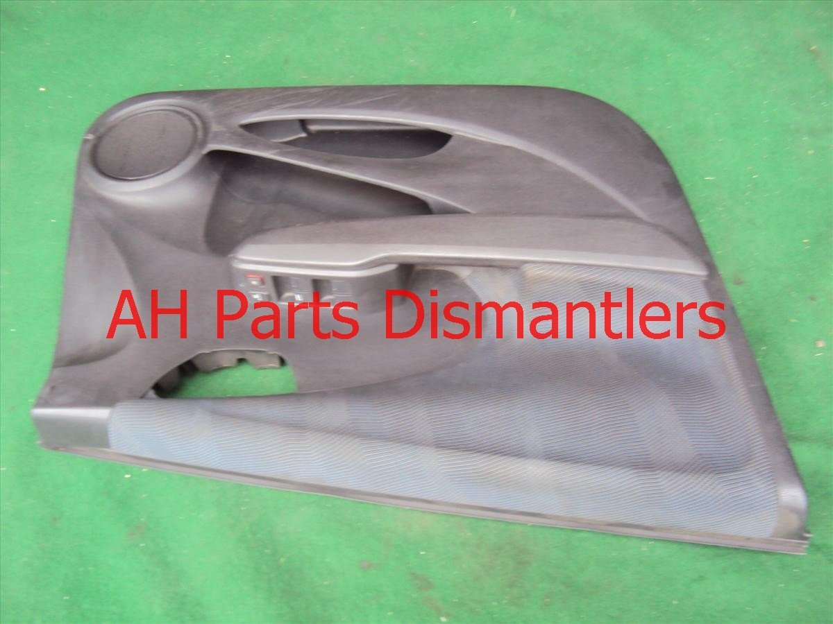 2009 Honda FIT Door trim liner Front driver DR PANEL CMPLET SWITCH 83580 TK6 A02ZA 83580TK6A02ZA Replacement
