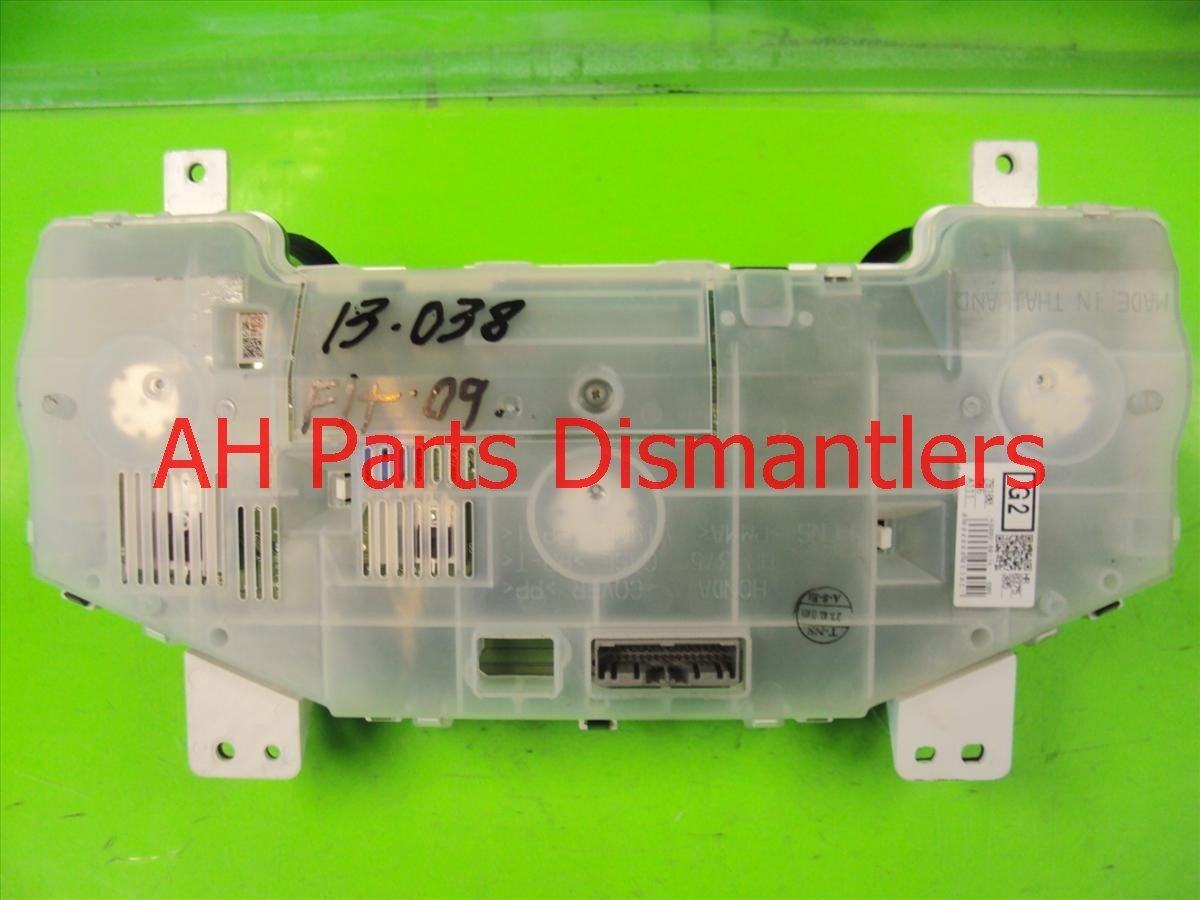 2009 Honda FIT Instrument Gauge SPEEDOMETER CLUSTER 78100 TK6 A12 78100TK6A12 Replacement