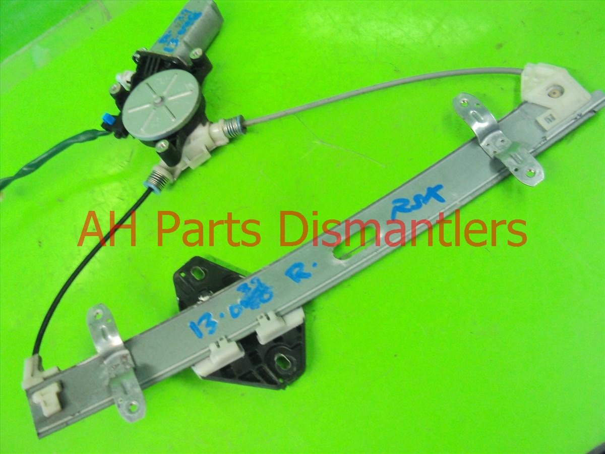 2005 Acura RSX Front Passenger WINDOW REGULATOR 72210 S6M A02 72210S6MA02 Replacement