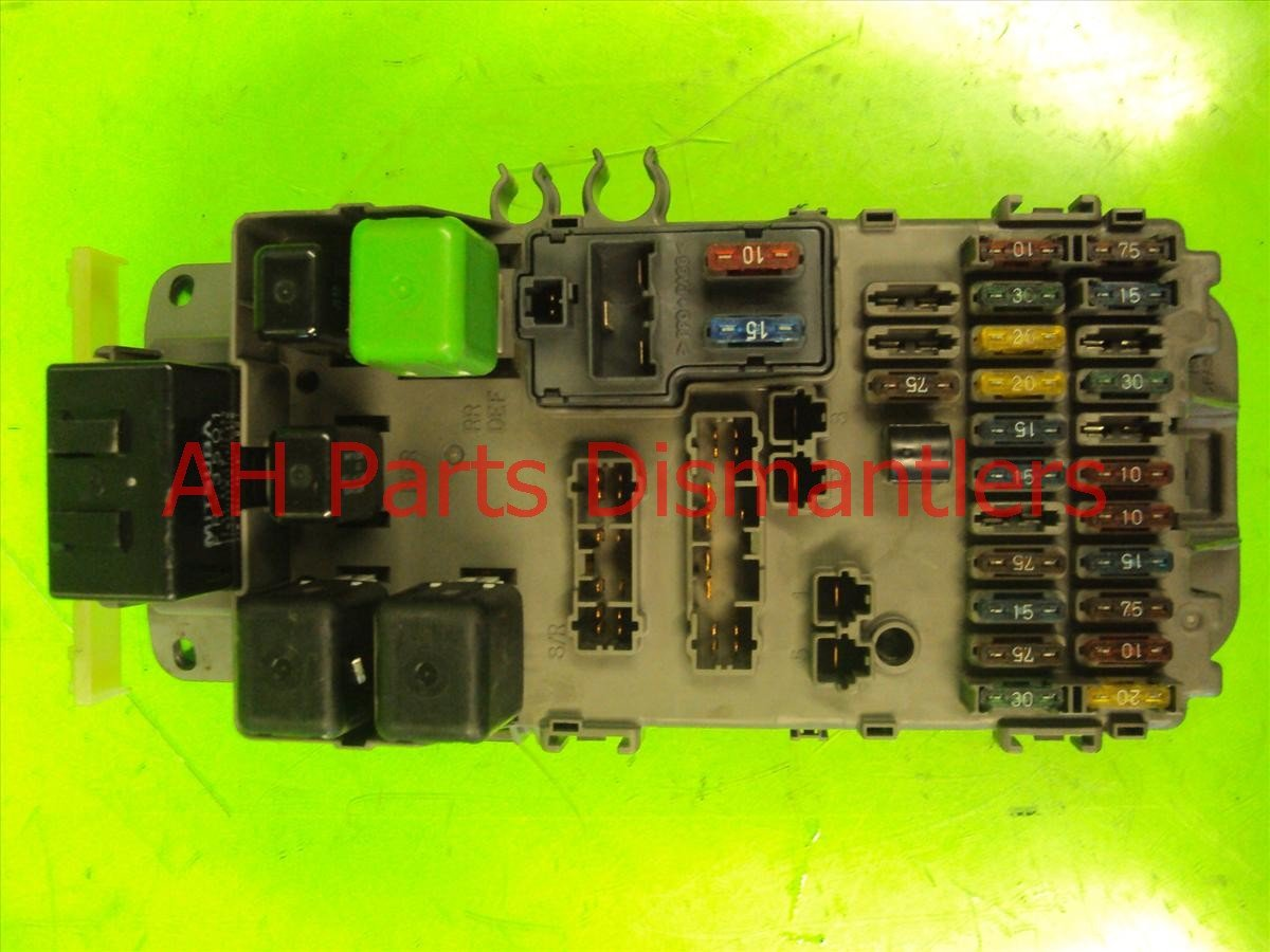 2000 Honda Prelude FUSE BOX ASSY 38200 S30 N81 38200S30N81 Replacement