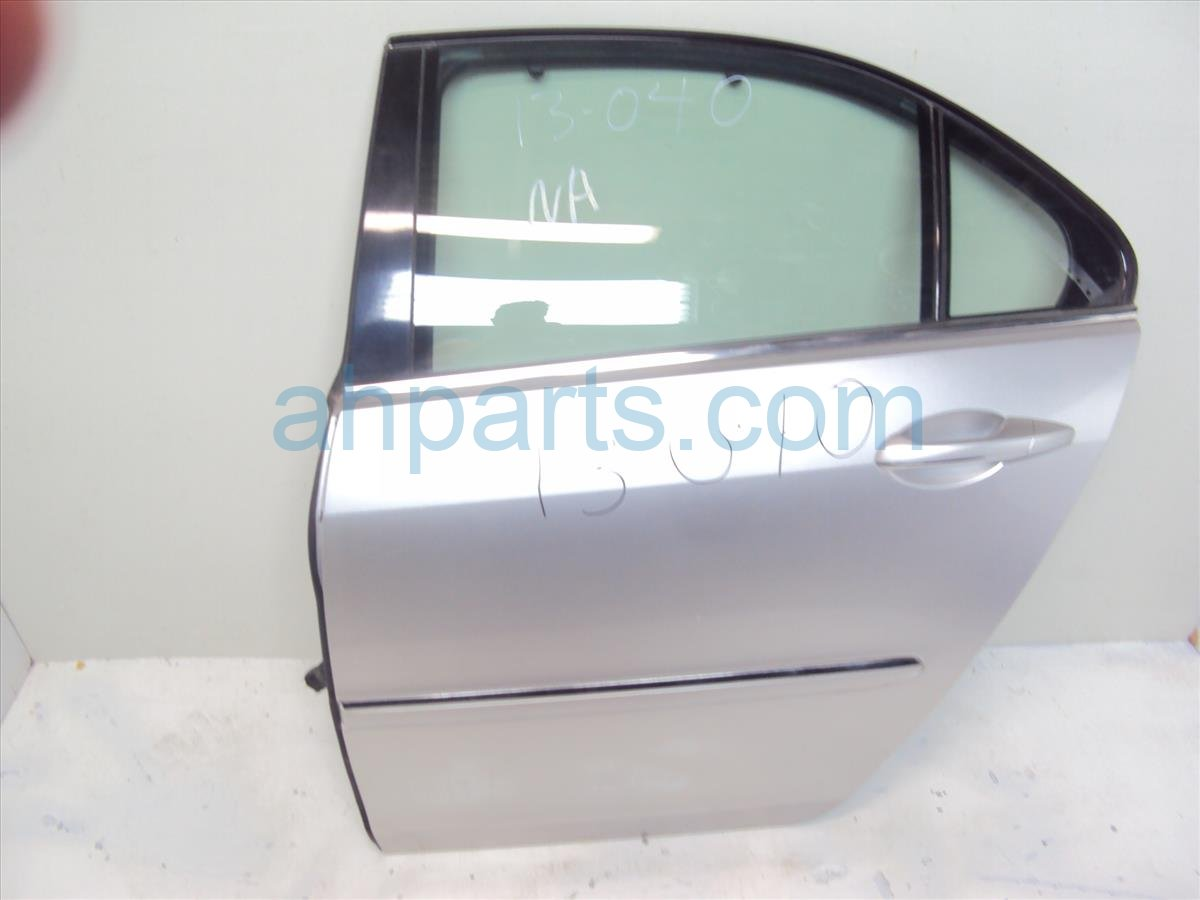 2006 Acura RL 4DR Rear driver DOOR SHELL SILVER 32754 SJA A00 32754SJAA00 Replacement