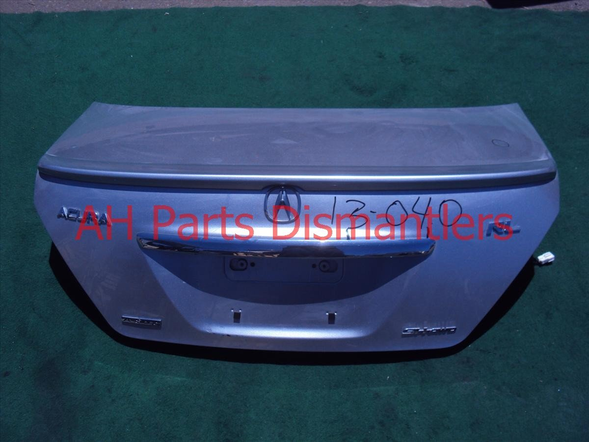2006 Acura RL Trunk DECK LID SILVER 68500 SJA A93ZZ 68500SJAA93ZZ Replacement