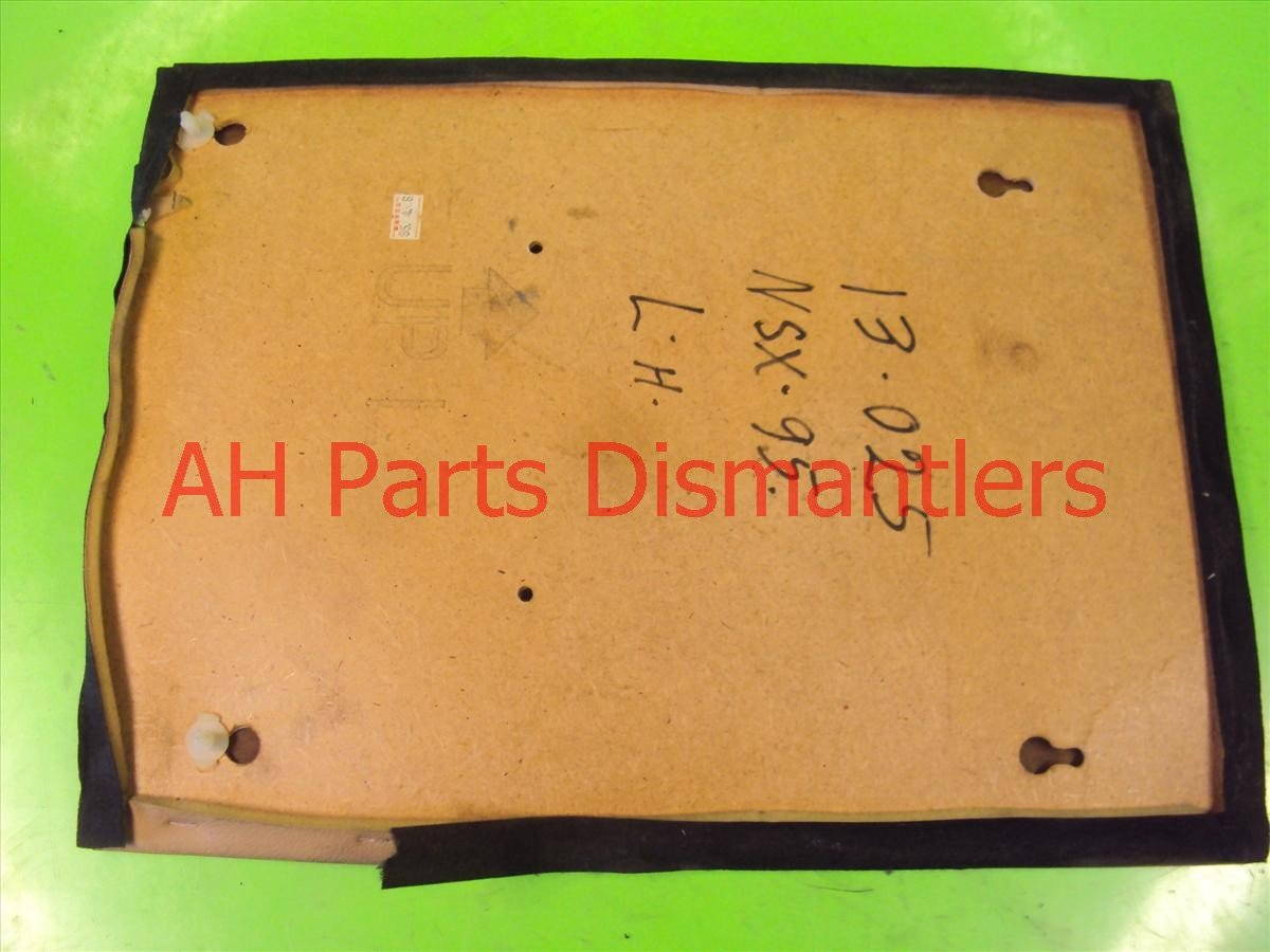 1995 Acura NSX Cover Front driver SEAT BACK PANEL TAN COUPLE MA 83770 SL0 A00ZE 83770SL0A00ZE Replacement