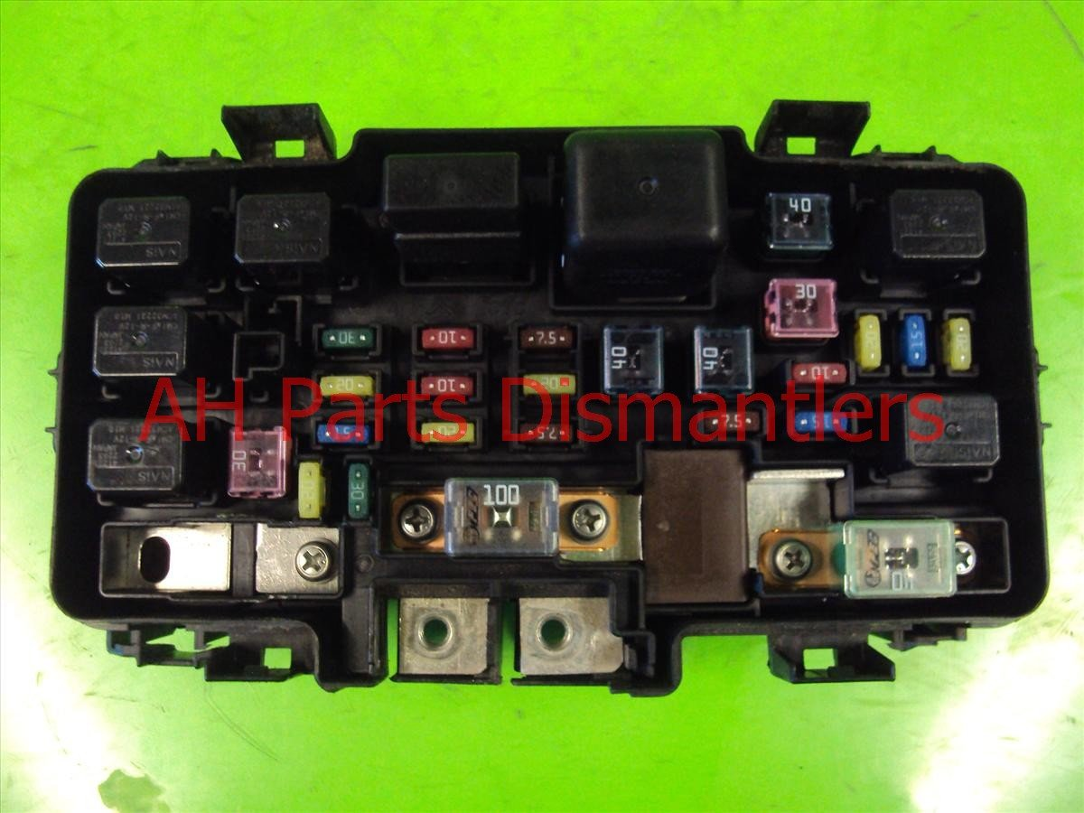 buy 90 2005 acura rsx under hood engine fuse box 38250. Black Bedroom Furniture Sets. Home Design Ideas