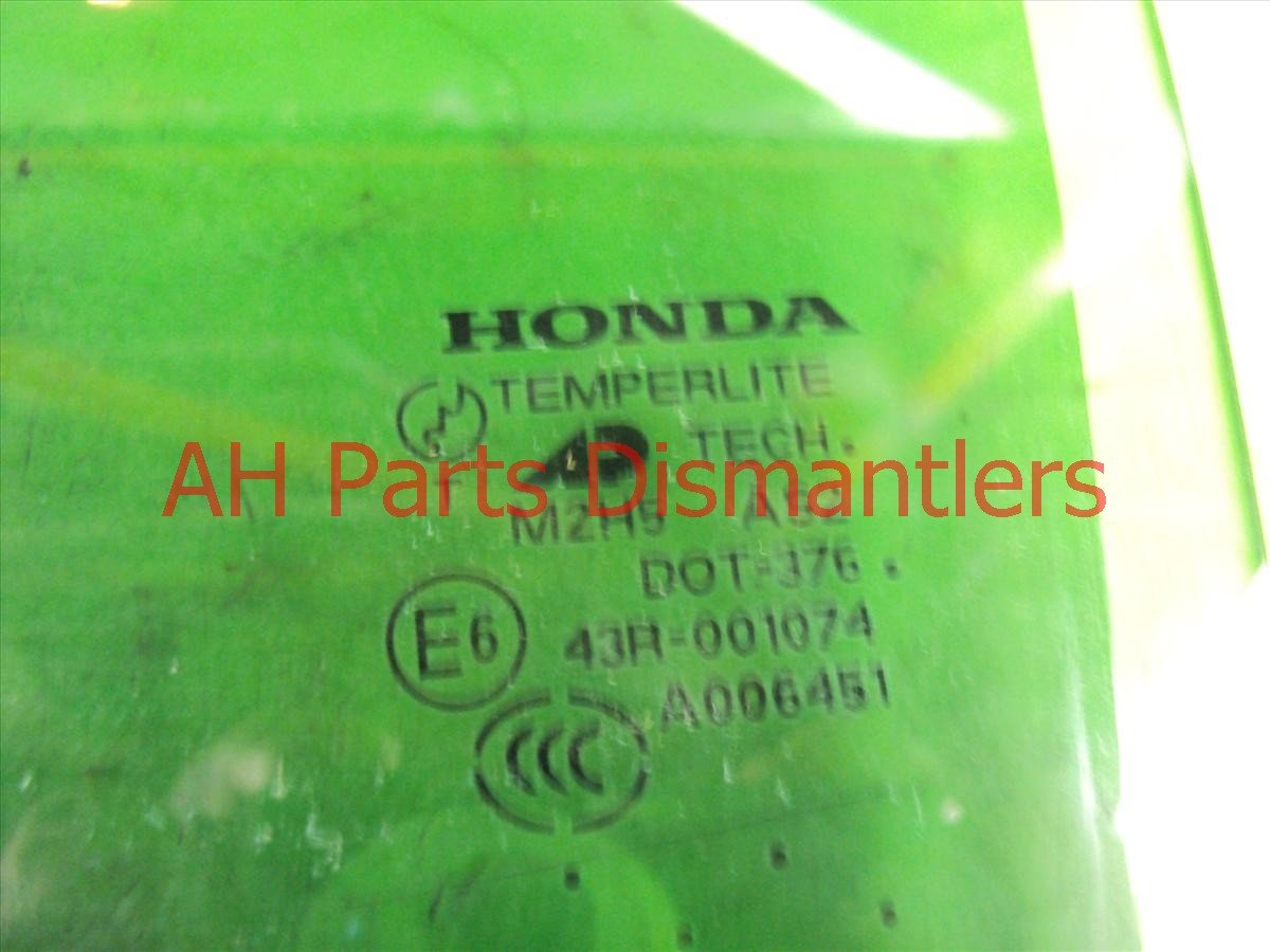 2006 Acura TL Window Rear driver DOOR GLASS 73450 SEP A10 73450SEPA10 Replacement