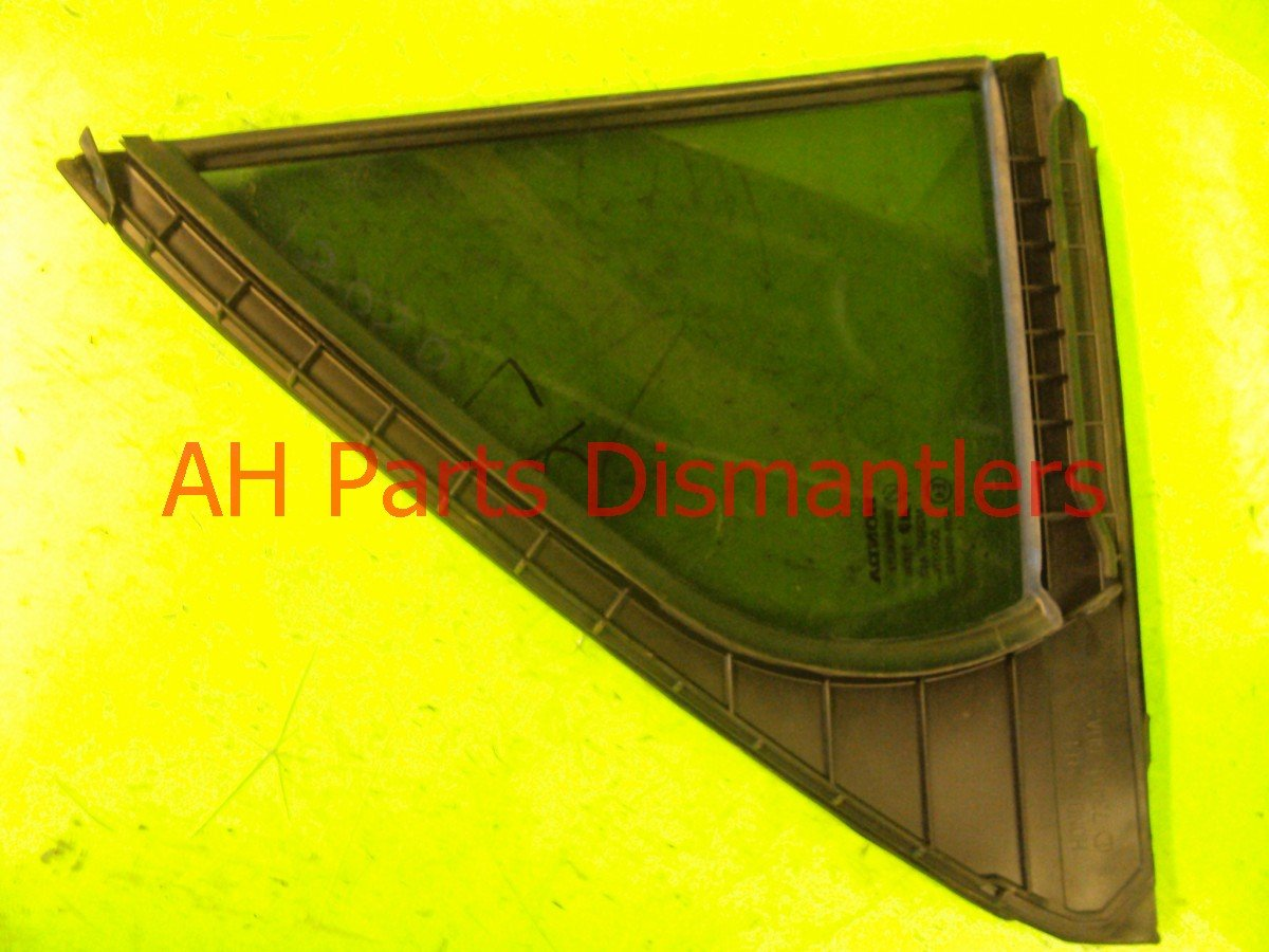 2003 Honda Accord Door window 4DR Rear driver VENT GLASS tinted 73455 SDA A10 73455SDAA10 Replacement
