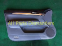 2005 Acura TSX Door trim liner Front driver DR PANEL CMPLET SWITCH 83558 SEC A11ZB 83558SECA11ZB Replacement