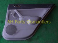 $40 Acura RR/R DR PANEL CMPLET blk/gray