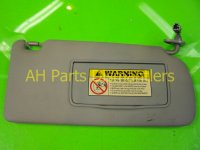 2005 Acura TSX Passenger SUN VISOR gray hangs a bit Replacement