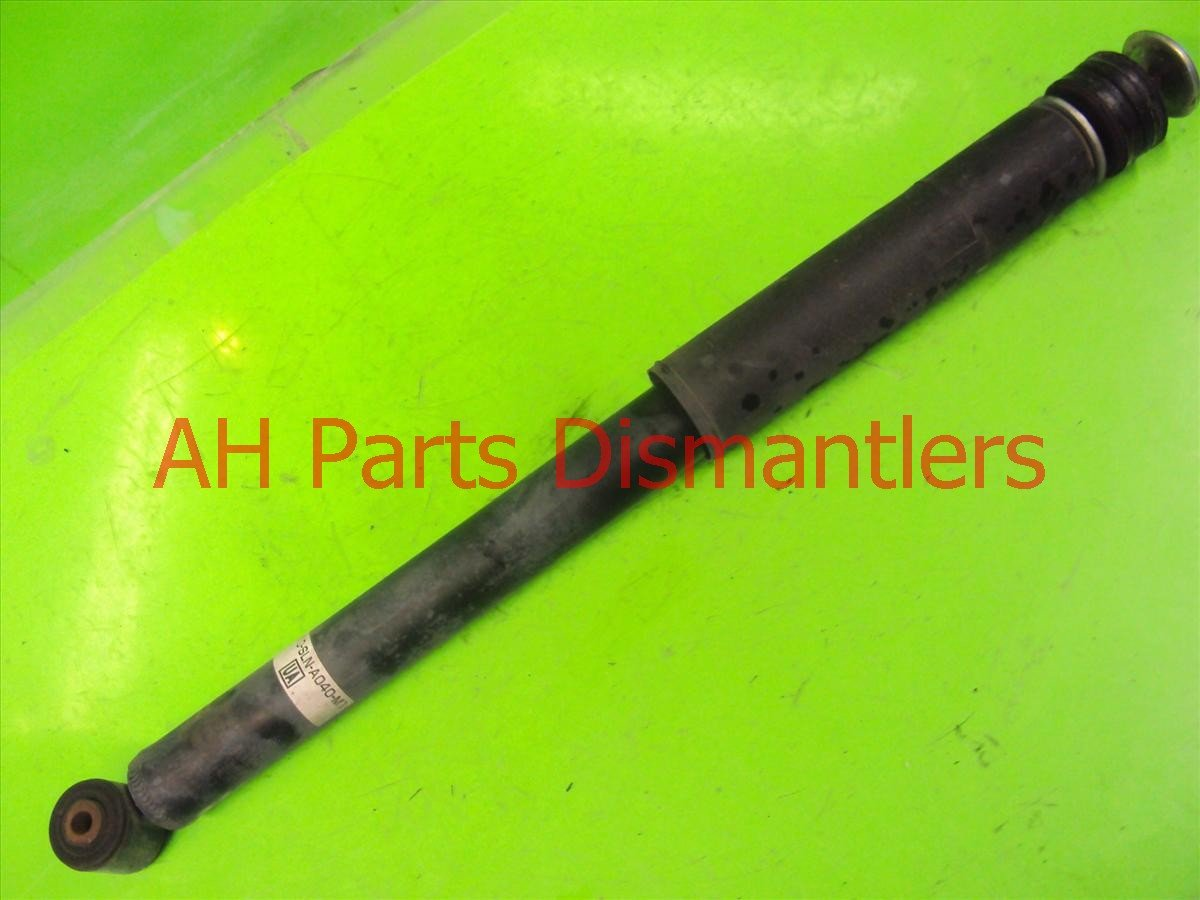 2007 Honda FIT Spring / Shock Absorber Rear Passenger Strut Replacement