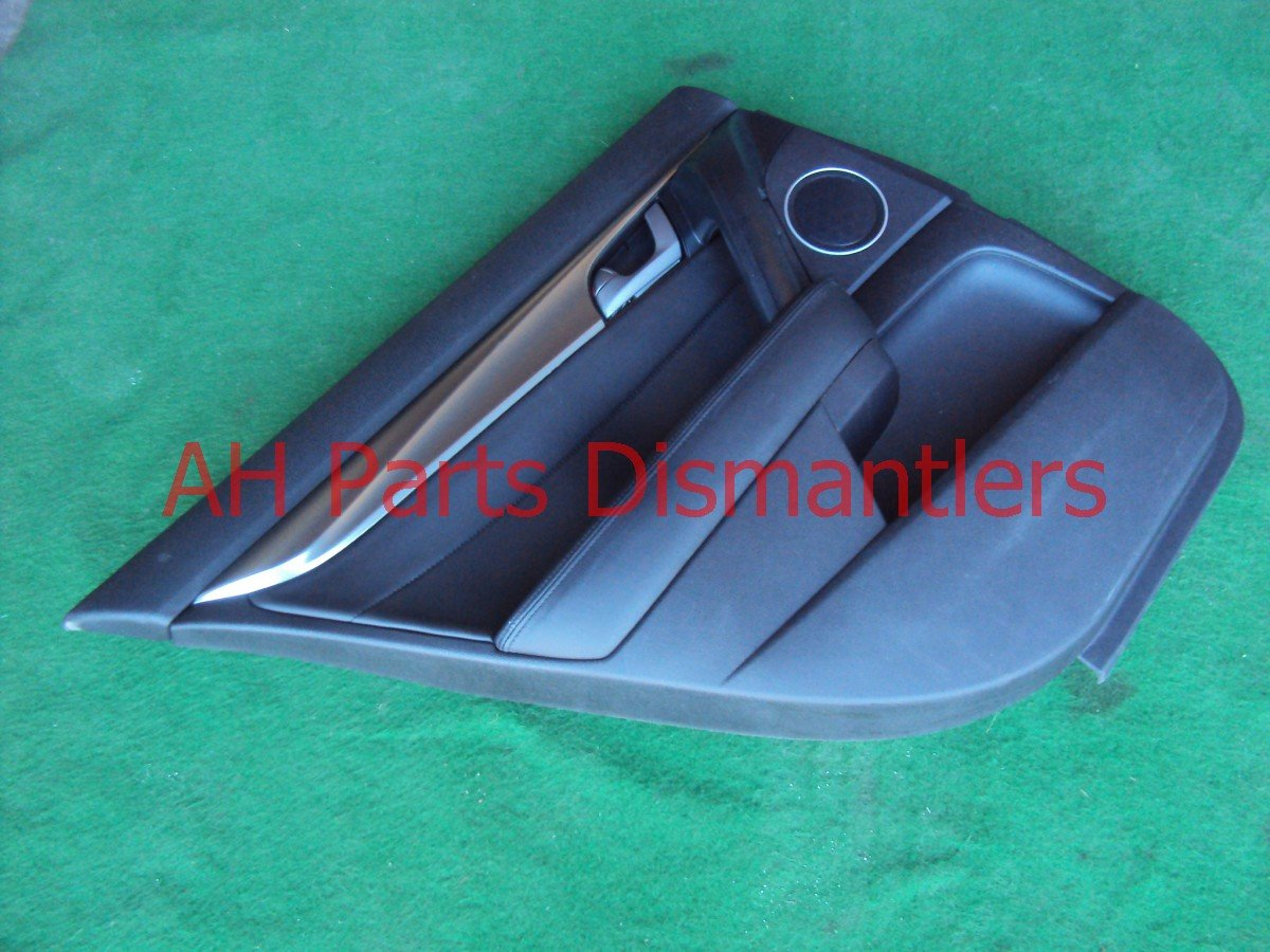 2009 Acura TL Door trim liner Rear driver DR PANEL CMPLETE BLACK 83751 TK4 A03ZB 83751TK4A03ZB Replacement