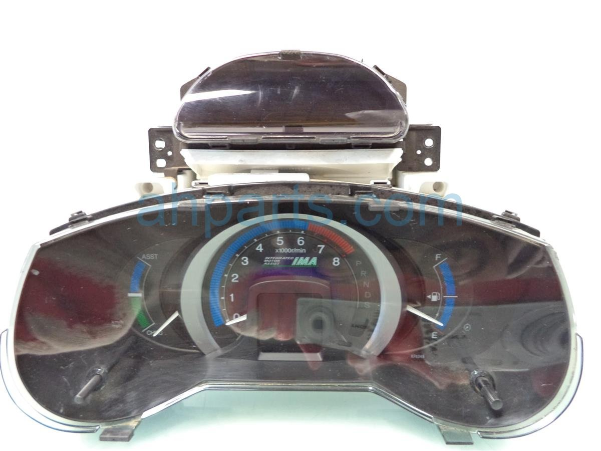 2010 Honda Insight Instrument Gauge UPPER LOWER SPEEDOMETER CLUSTER 78100 TM8 A13 78100TM8A13 Replacement