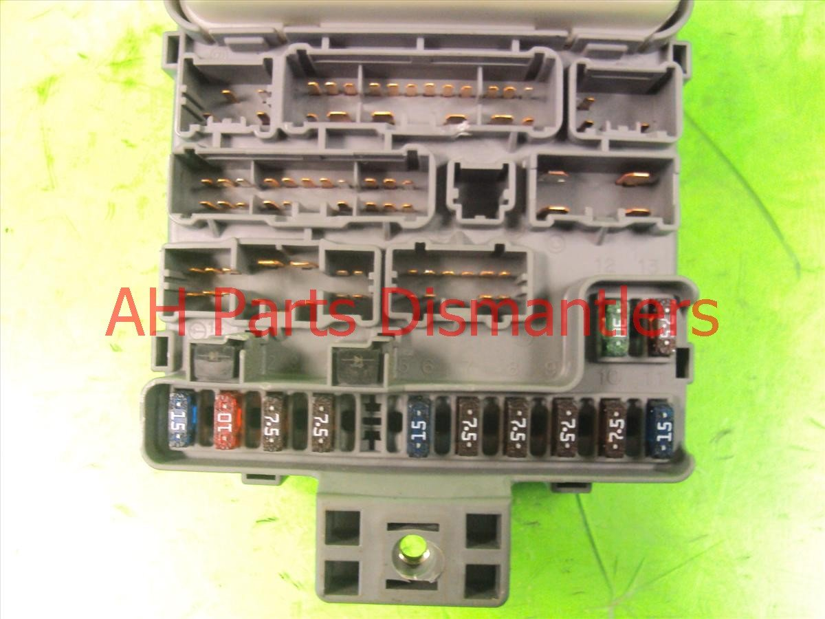 2001 honda accord driver dash fuse box 92 honda accord fuse box locations