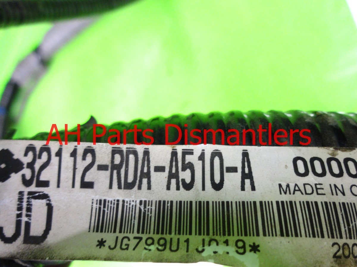 2006 Acura TL PCM SUB WIRE 32112 RDA A51 32112RDAA51 Replacement