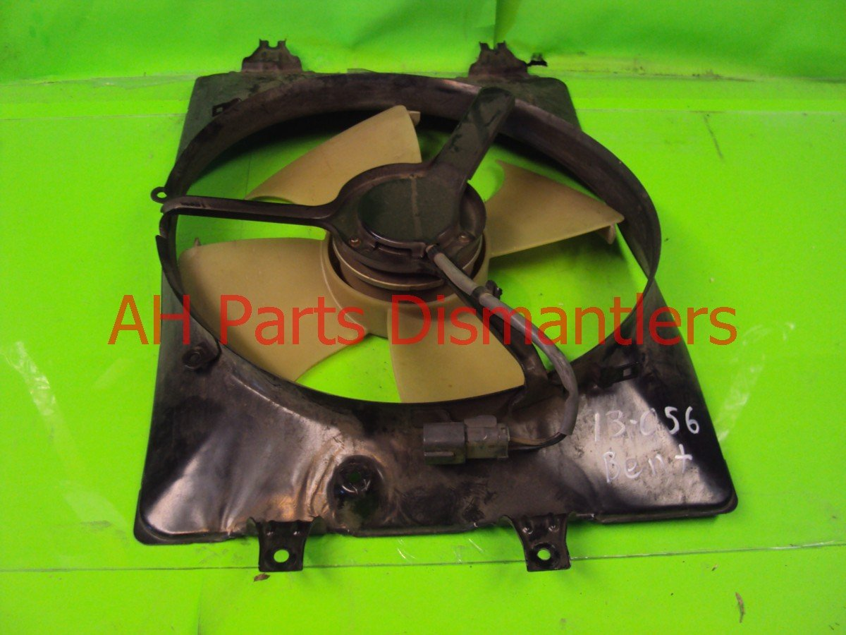 2004 Acura MDX Cooling Ac Fan, Bent Shroud Replacement