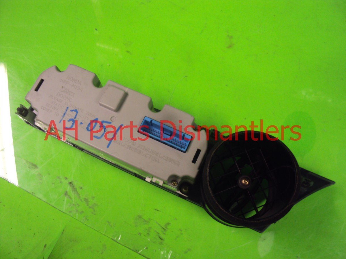 2006 Acura RSX Temperature heater control AC CLIMATE COTROL GRAY GOOD Replacement