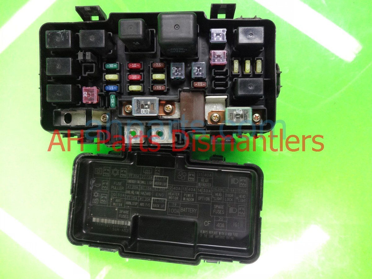 Rsx Fuse Accessory Box Everything About Wiring Diagram S Under Hood Same As Base Model 44 Acura Inside