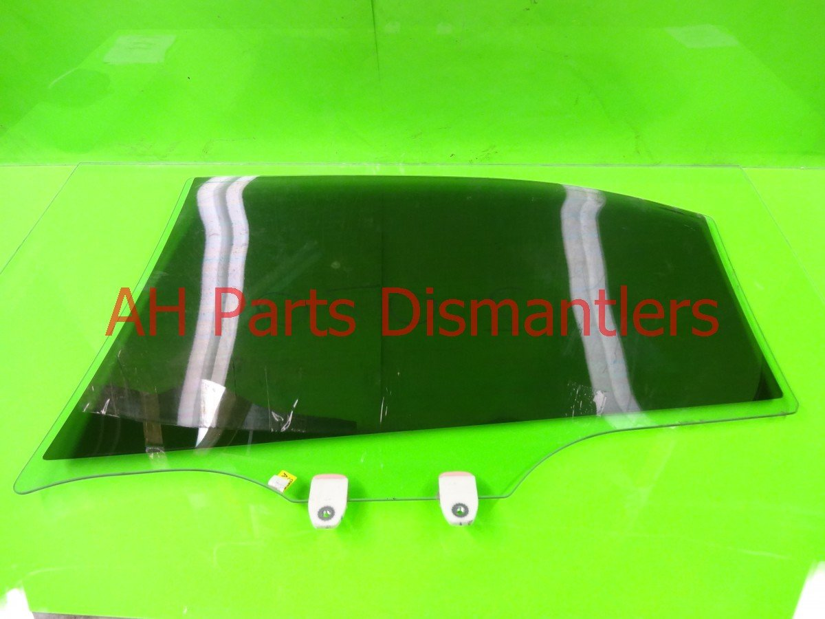 2008 Acura TSX Window Rear passenger DOOR GLASS TINTED Replacement