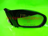 $35 Honda RH SIDE REAR VIEW MIRROR blk