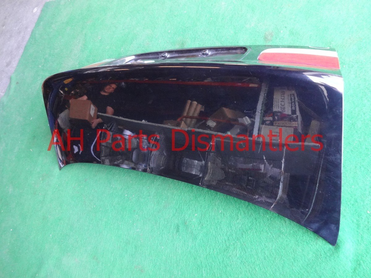 2000 Honda Civic DECK LID REAR TRUNK blk complete 68500 S02 A01ZZ 68500S02A01ZZ Replacement