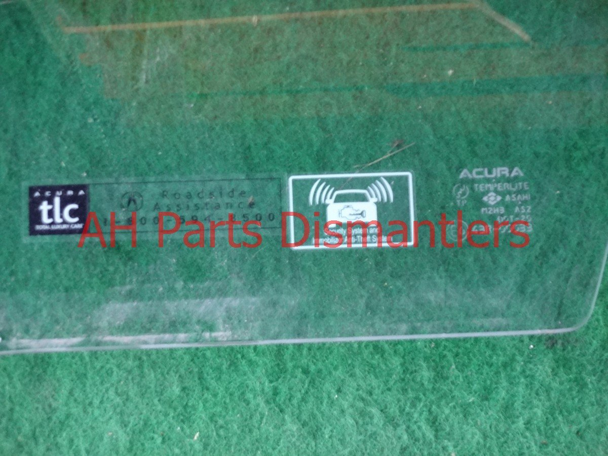 2008 Acura TSX Window Front driver DOOR GLASS 73350 SEC A10 73350SECA10 Replacement