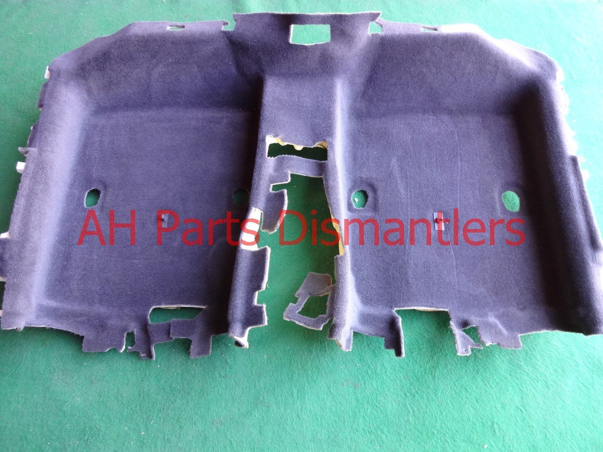 2011 Acura TL Floor ground REAR CARPET CHRCL GRAY CLEAN Replacement