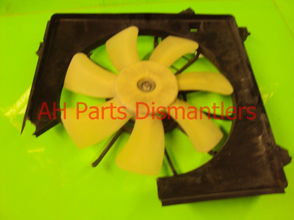 2009 Acura TSX Cooling AC FAN WORKS SHROUD IS BROKEN Replacement