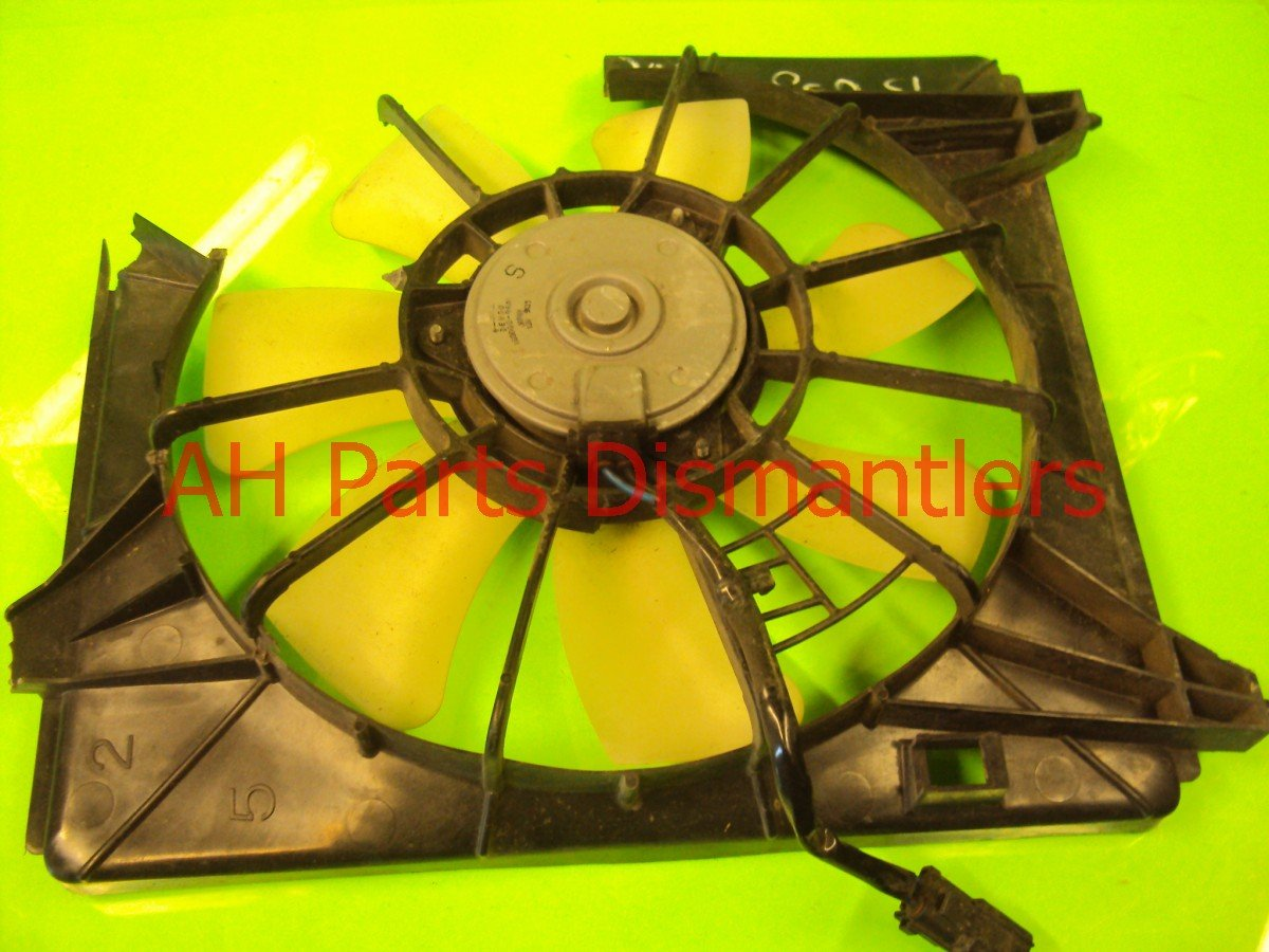 2009 Acura TSX Cooling Ac Fan, Works, Shroud Is Broken Replacement