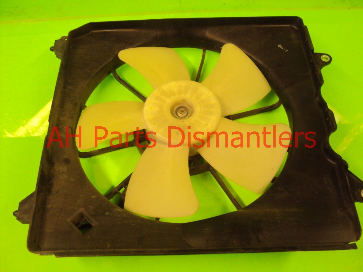 2009 Acura TSX Cooling RADIATOR FAN 19020 RCJ A01 19020RCJA01 Replacement