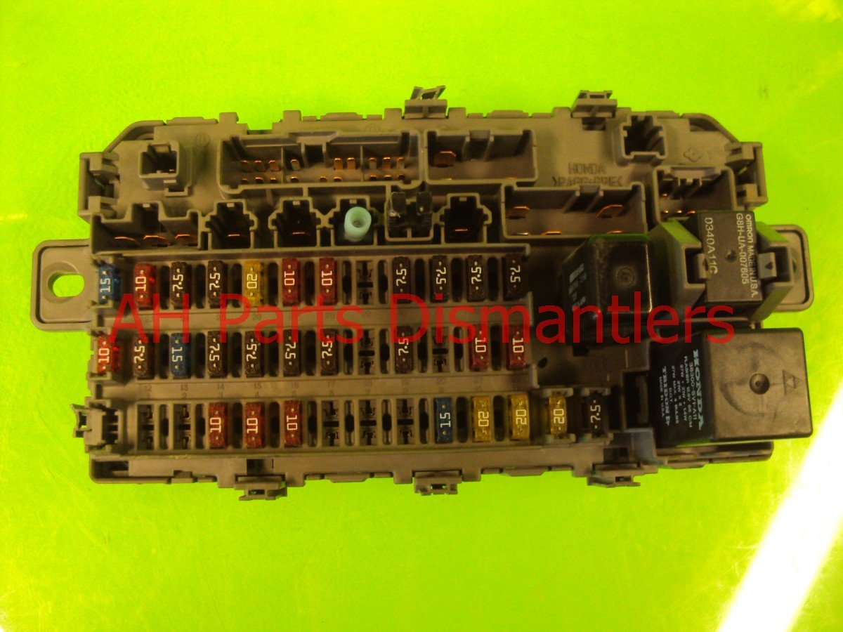 ... 2000 Honda Civic Box Dash Fuse 38200 S04 A01 Replacement ...