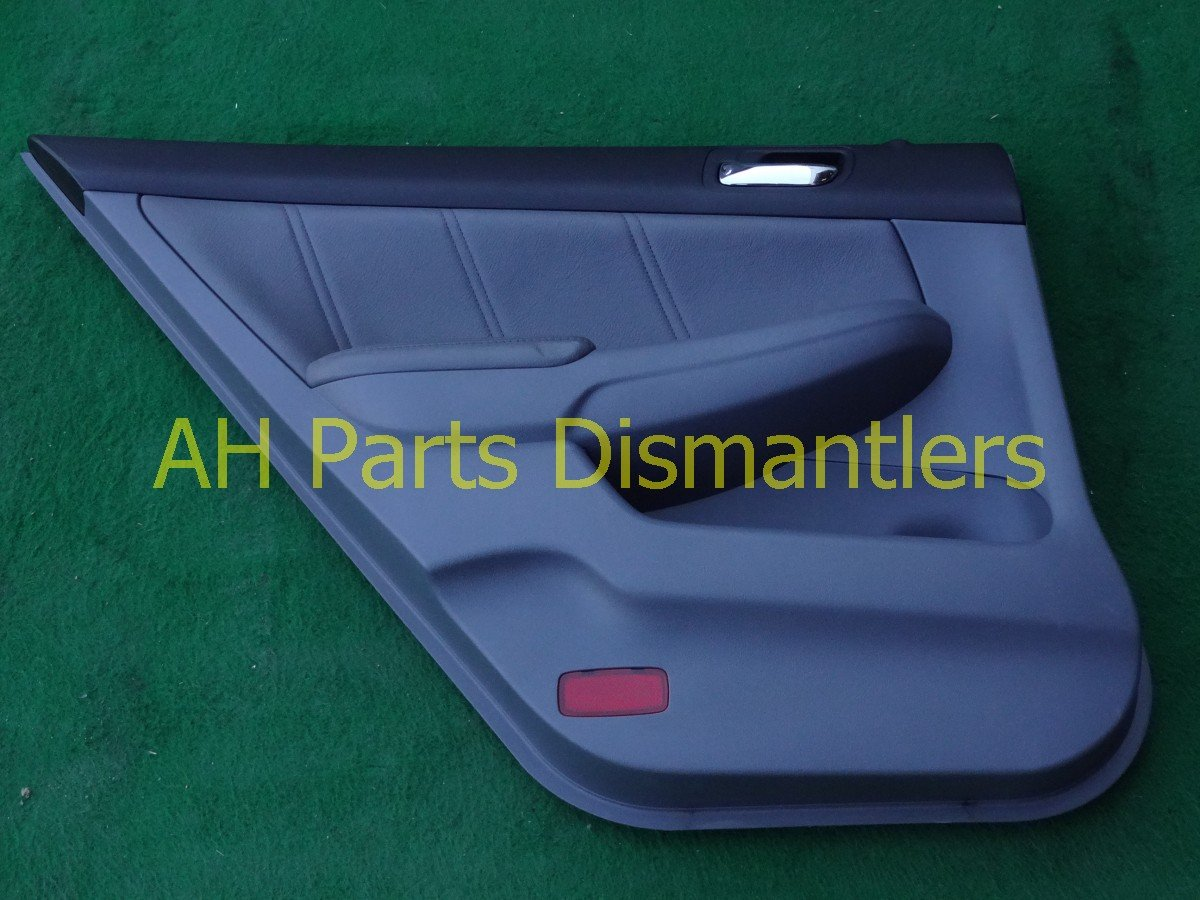 2003 Honda Accord Trim liner Rear driver DOOR PANEL CMPLET gray leather 83750 SDA A32ZB 83750SDAA32ZB Replacement