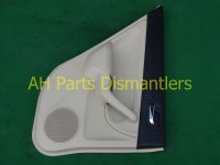 2004 Acura TSX Trim liner Rear driver DOOR PANEL CMPLET tan Blk 83754 SEC A01ZC 83754SECA01ZC Replacement