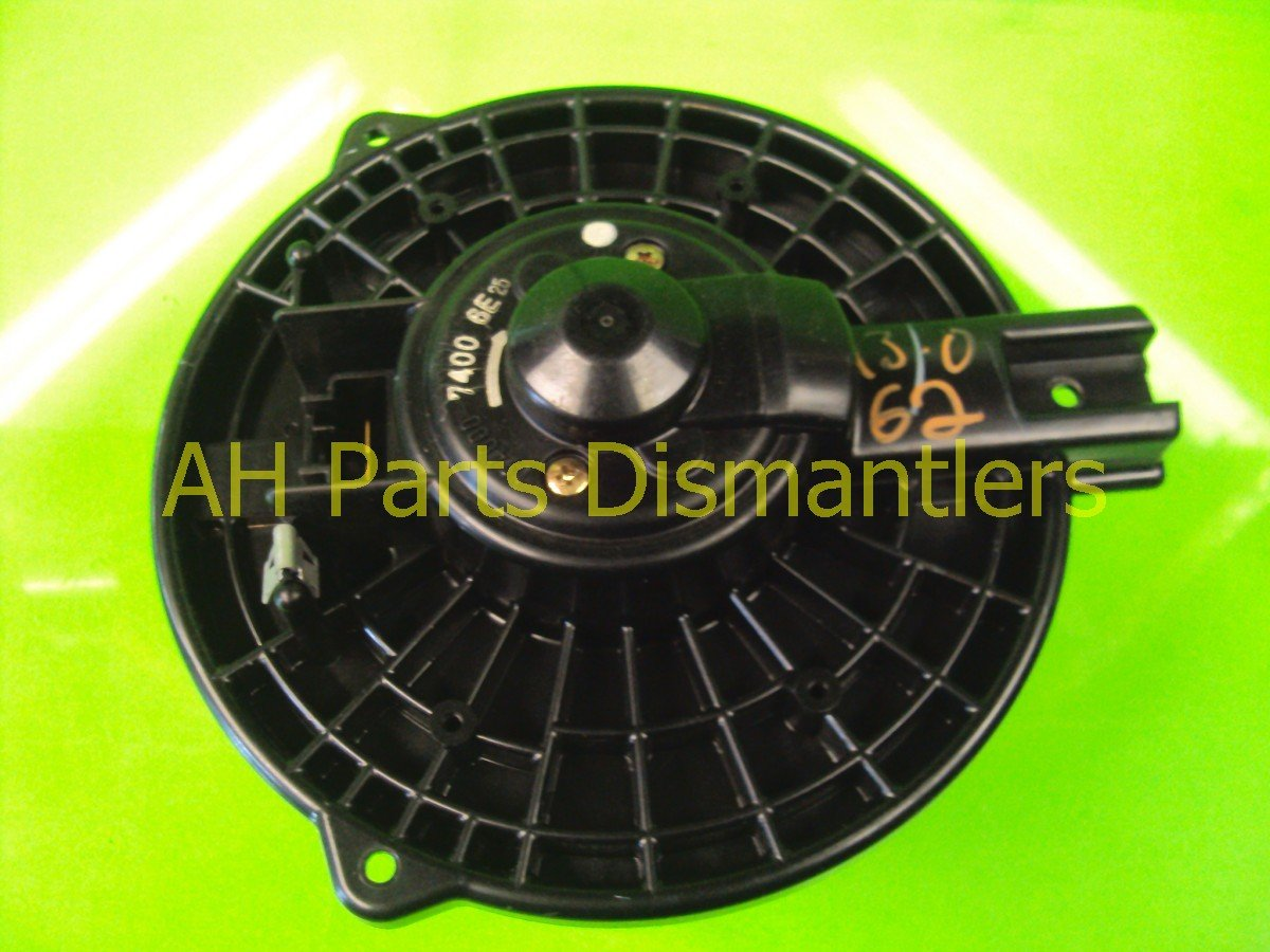 2004 Acura TSX Air Fan/heater Blower Motor Replacement