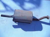1996 Acura Integra Exhaust Muffler Some Rust And Damage Replacement