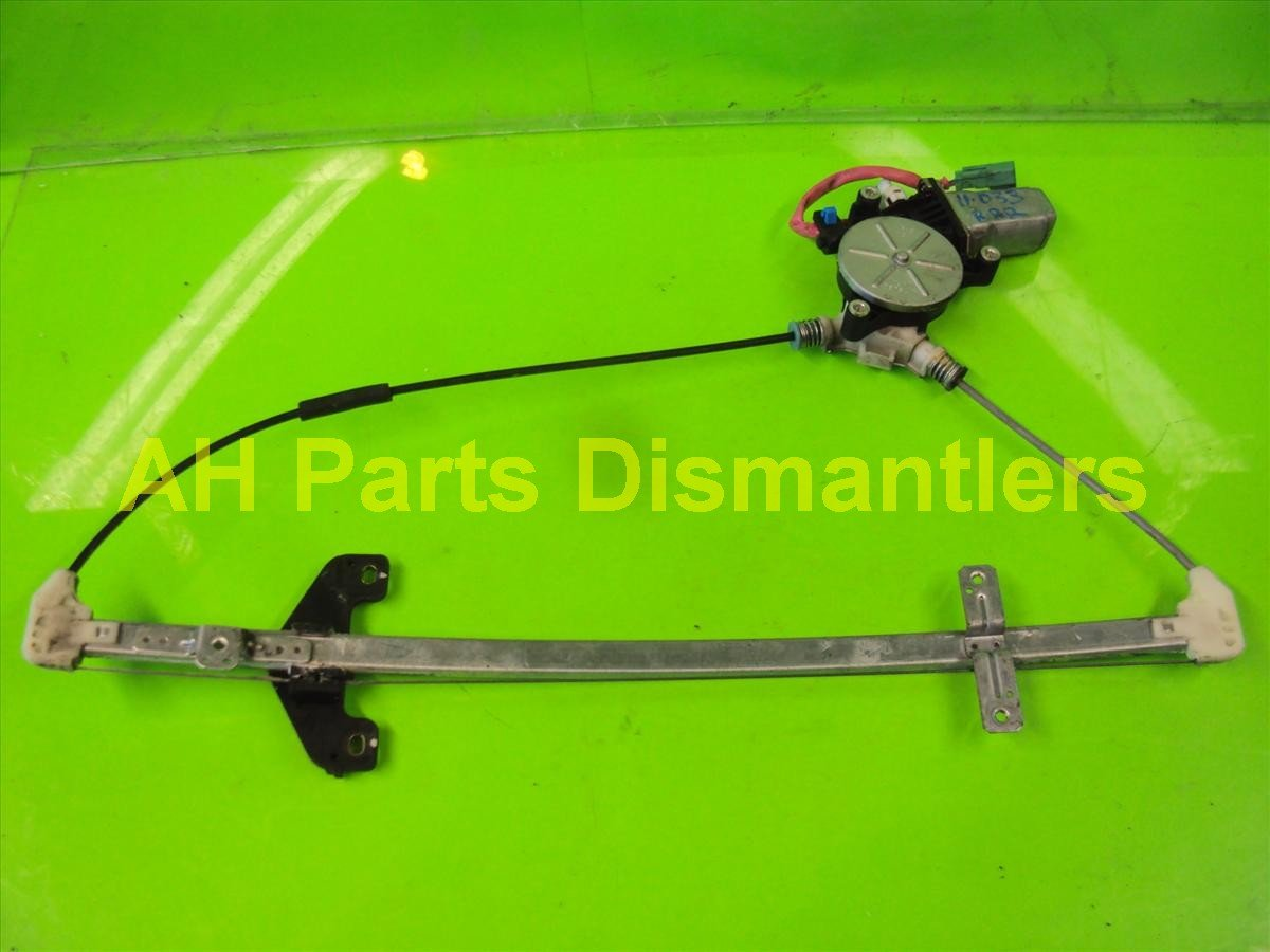 2003 Honda CR V Rear passenger WINDOW REGULATOR MOTOR 72710 S9A 013 72710S9A013 Replacement