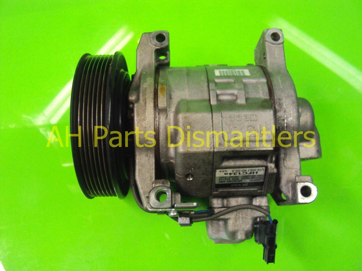 2010 Honda Accord clutch AC PUMP AIR COMPRESSOR 38810 R40 A01 38810R40A01 Replacement