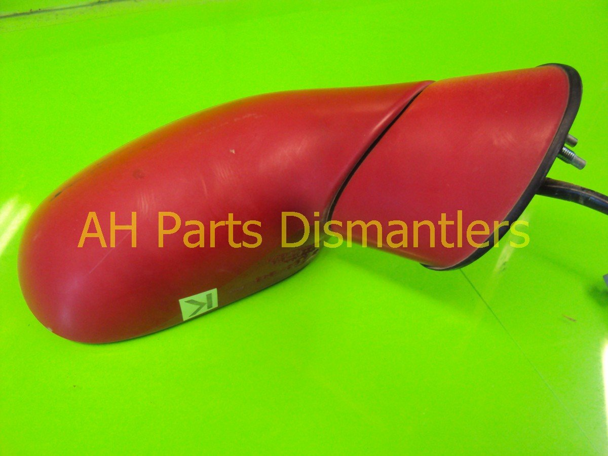 1993 Honda Del Sol Rear Front passenger SIDE VIEW MIRROR RED Replacement