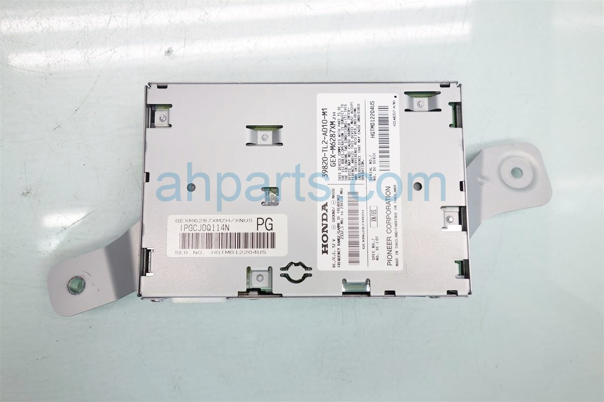 2009 Acura TSX Xm Unit 39820 TL2 A01 Replacement