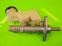 2009 Acura TSX Brake Master Cylinder Replacement