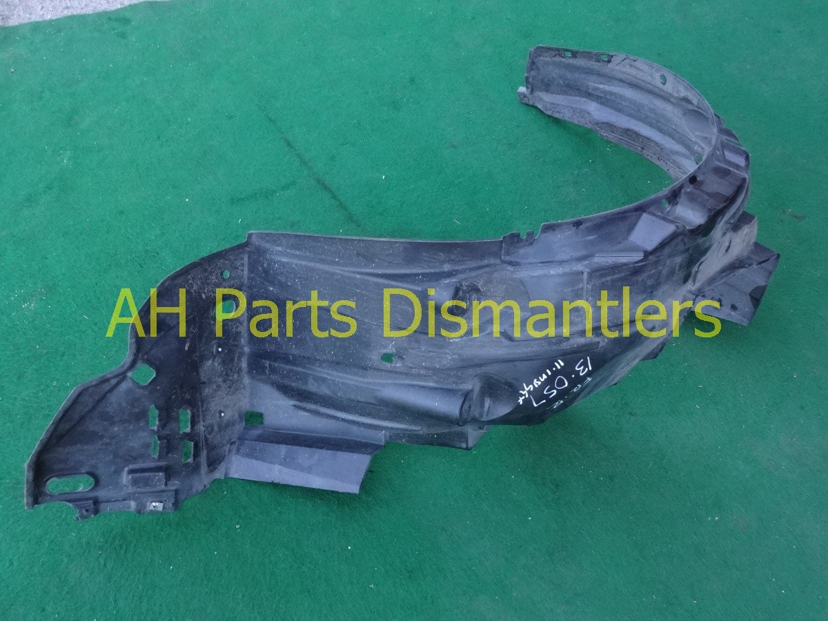 2010 Honda Insight Front passenger FENDER LINER 74101 TM8 A00 74101TM8A00 Replacement