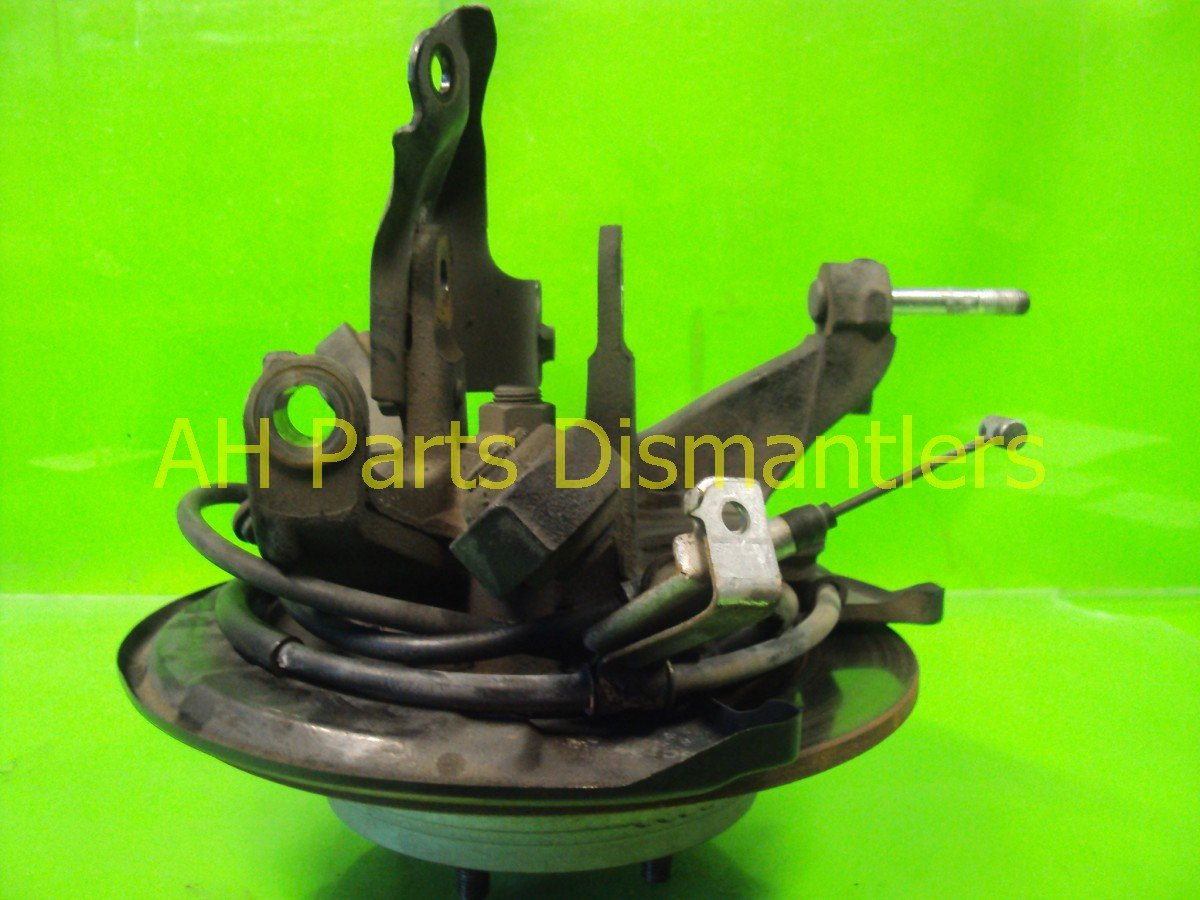 2006 Acura TL Axle stub Rear driver SPINDLE KNUCKLE Replacement