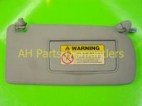 2005 Acura TSX Passenger INT SUN VISOR GREY HAS INDENT Replacement