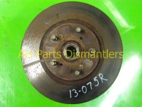 2001 Honda Odyssey Hub Front passenger SPINDLE KNUCKLE Replacement