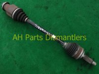 2007 Acura MDX Rear driver AXLE SHAFT Replacement