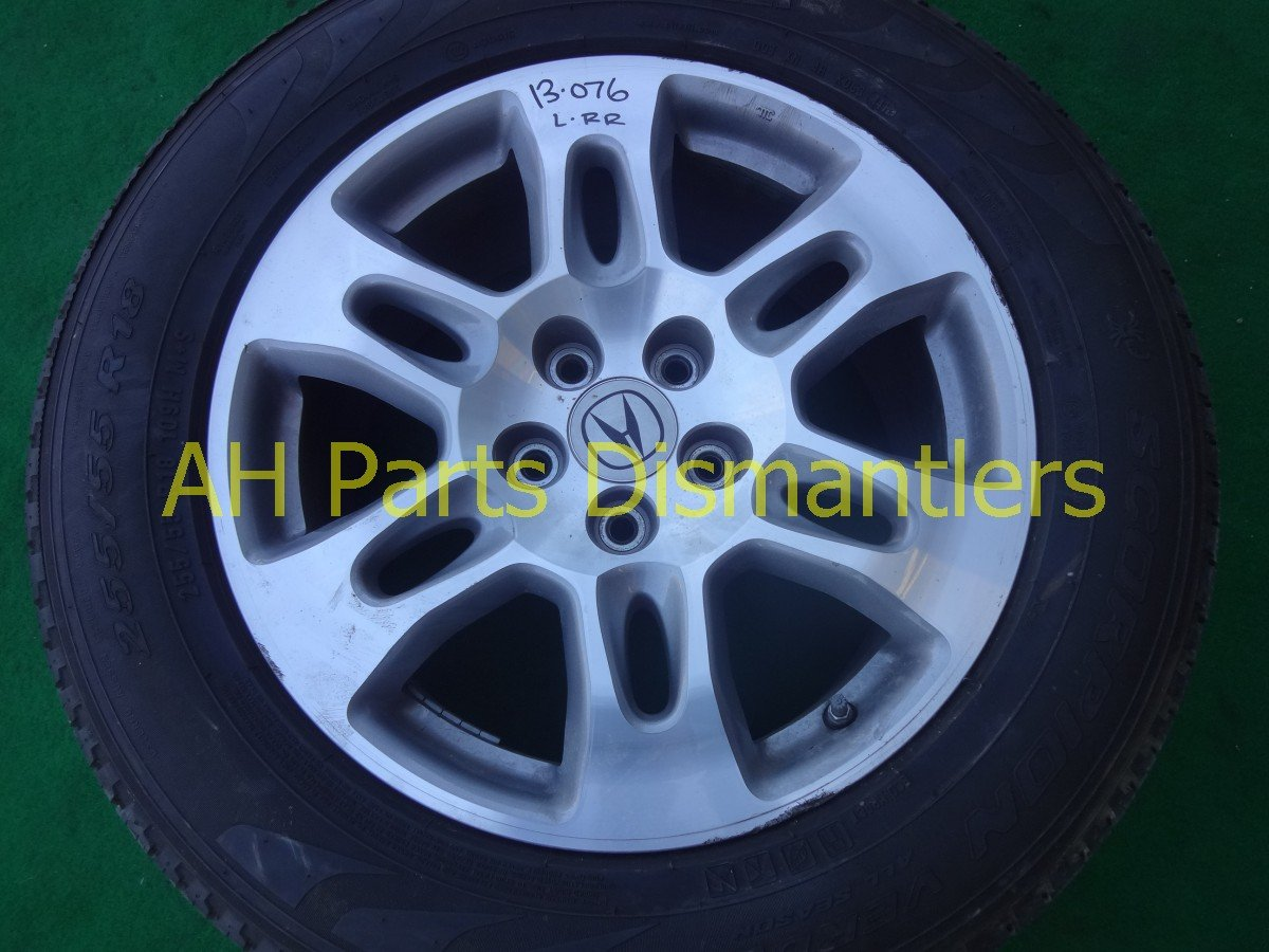 2007 Acura MDX Rear driver WHEEL RIM edge chipped 42700 STX A01 42700STXA01 Replacement