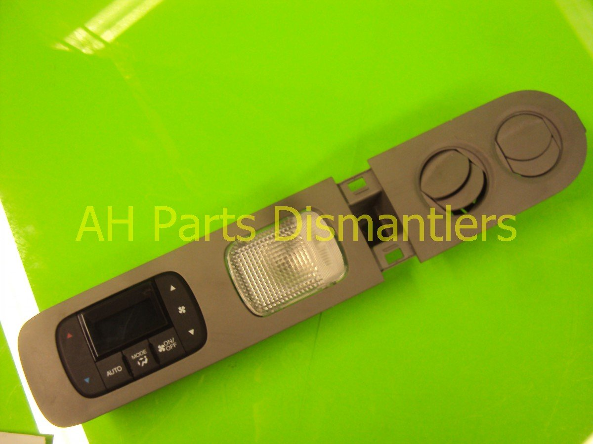 2011 Honda Odyssey Temperature Climate / Heater Rear Auto Ac Control Assy Gray 79650 TK8 A41 Replacement