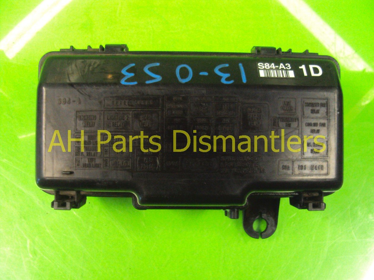 2001 Honda Accord Engine Fuse Box 38250 S84 A32 Replacement