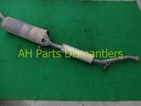 2001 Honda Odyssey EXHAUST PIPE W MUFFLER 18030 S0X A01 18030S0XA01 Replacement