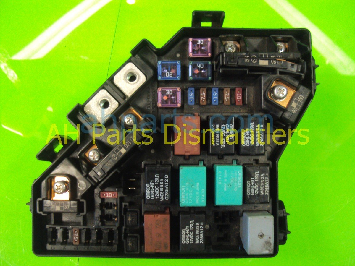 Fuse Box In Honda Civic 2007 Worksheet And Wiring Diagram 2001 Panel Engine 38250 Sna A01 Rh Ahparts Com 2002