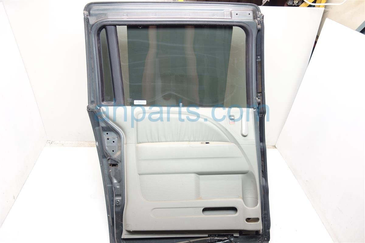 2007 Honda Odyssey Rear driver DOOR Gray Complete 67550 SHJ A90ZZ 67550SHJA90ZZ Replacement